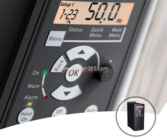 Biến Tần Danfoss VLT® MICRO DRIVE FC 51 0.75KW 3P 380V 132F0018 1