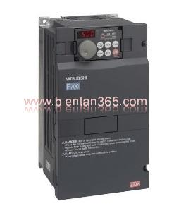 Biến tần mitsubishi f740 3.7kw, 380v fr-f740-3.7k