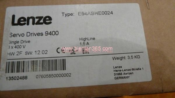 E94ashe0024 lenze 9400 new fullbox