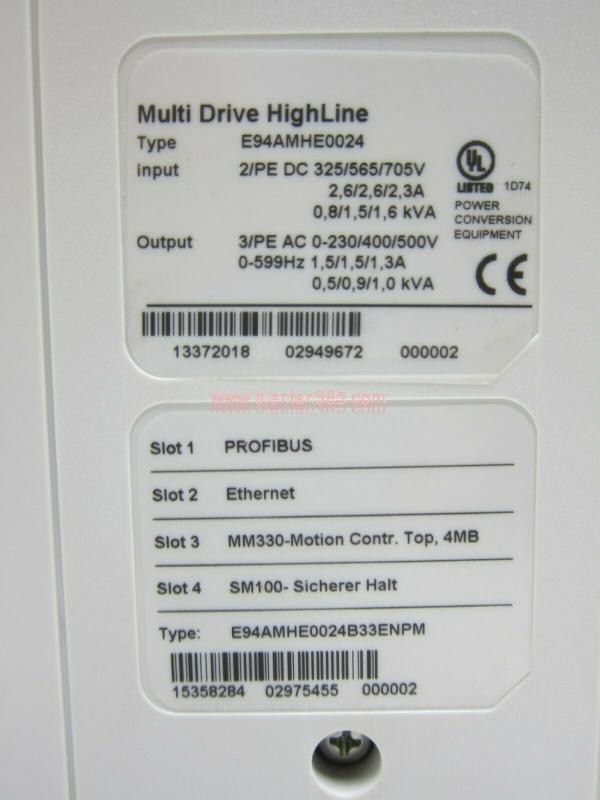 Multi servo 9400 0.37kw