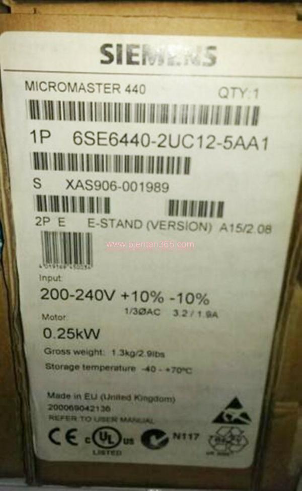 Siemen 0.25kw