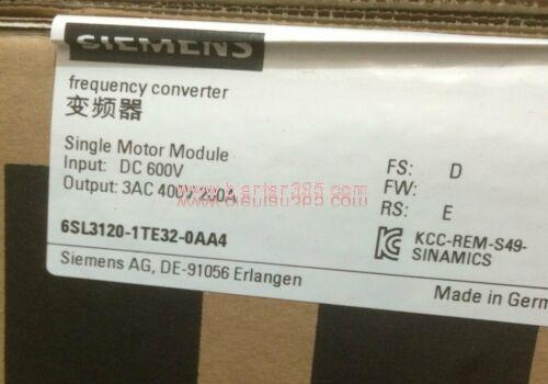 Siemens 6sl3120-1te32-0aa4
