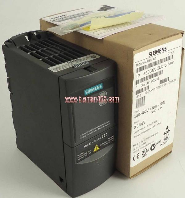 Biến tần Siemens MM420 6SE6420-2UD24-0BA1 4kW