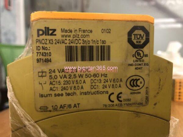 Safety relay pilz pnoz x3 (2)