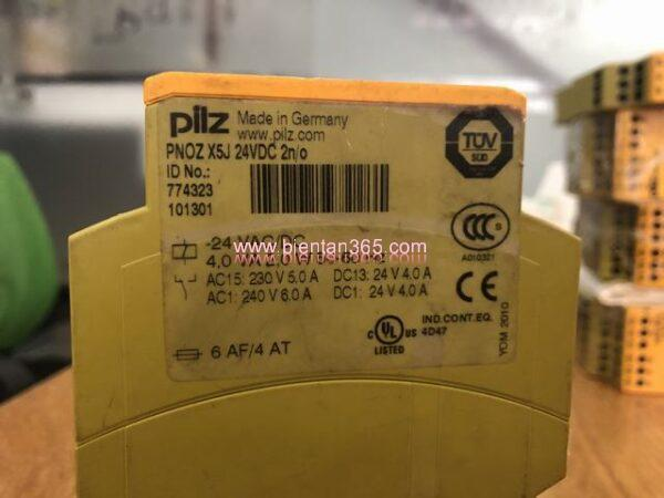 Safety relay pilz pnoz x5j (2)