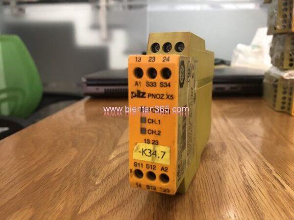 Safety relay pilz pnoz x5j