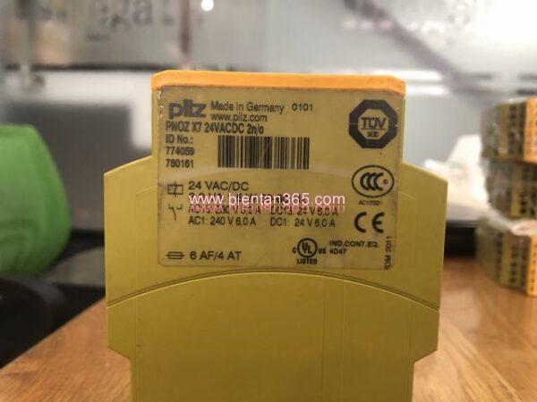 Safety relay pilz pnoz x7