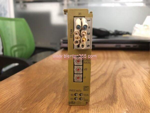 Safety relay pliz pnoz mc7p