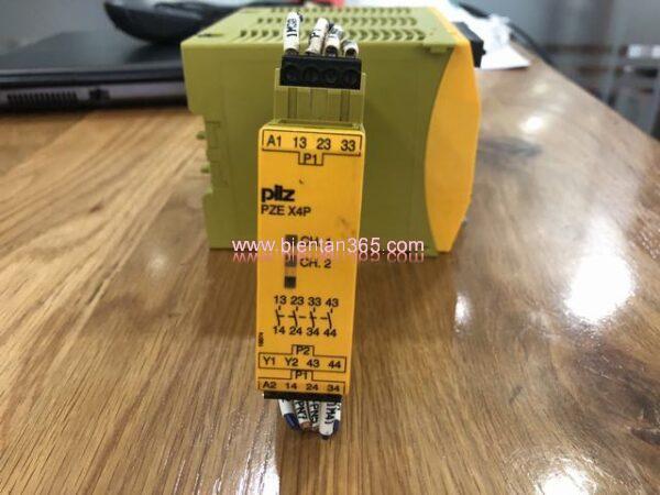 Safety relay pilz pze x4p
