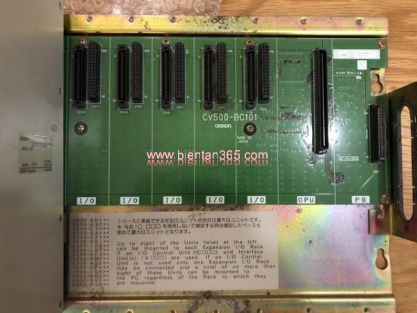 Đế cắm plc omron cv500-bc101
