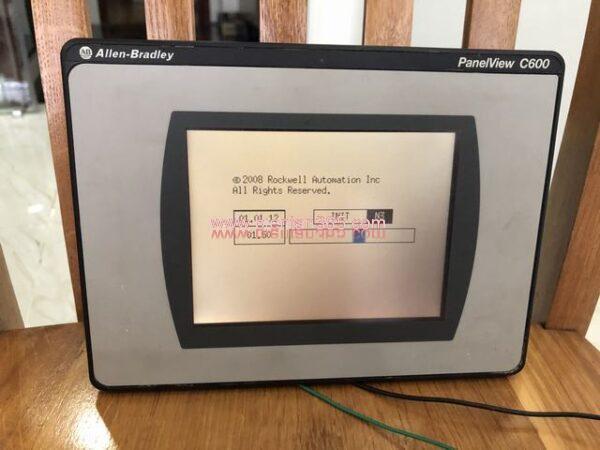 Hmi allen-bradley panelview c600 2711c-t6c (2)
