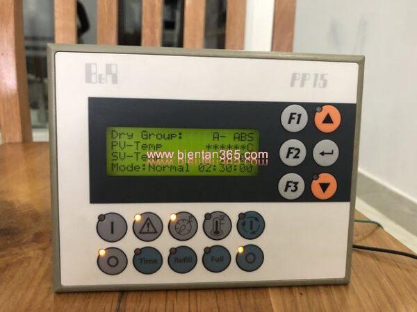 Màn hình máy sấy khí b&r pp15