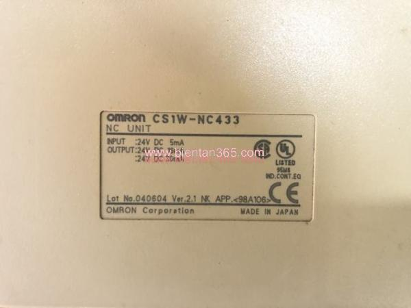 Module điều khiển vị trí plc omron cj1w-nc433