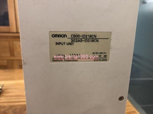 Module mở rộng ngõ vào plc omron c500 c500-id218cn