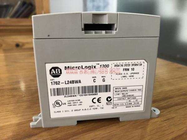 Plc ab micrologix 1200 1762-l24bwa - hình 2