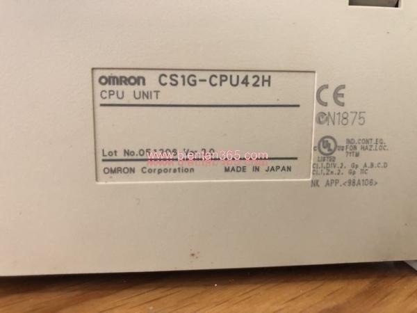 Plc-omron cs1g-cpu42h