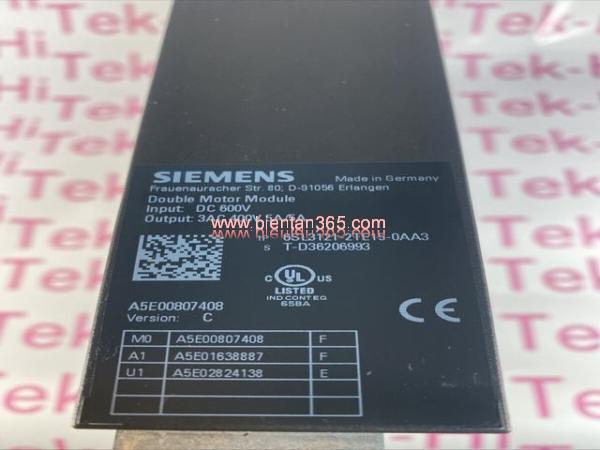 Sinamics s120 6sl3121-2te15-0aa3, 2x5a, 2x2.7 kw hình 2