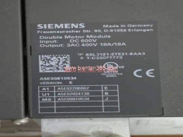 Sinamics s120 6sl3121-2te21-8aa3, 2x18a, 2x9.7 kw hình 2