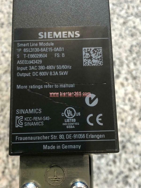 Smart line module 6sl3130-6ae15-0ab1, 5kw hình 2